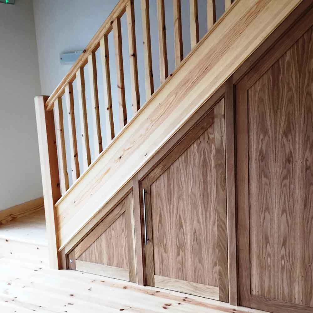 Bespoke Under Stairs Shelving: New & Replacement Staircases In Barrow